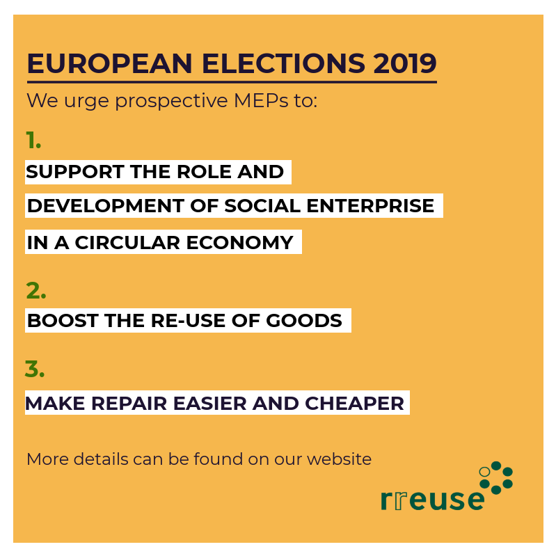European Elections 2019: Three priorities MEPs should take on board