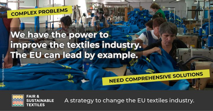 MEPs call on the Commission to follow civil society approach in textile strategy