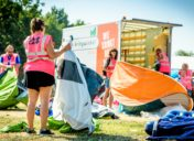 World-wide known festival to stop mountains of re-usable camping gear being thrown away