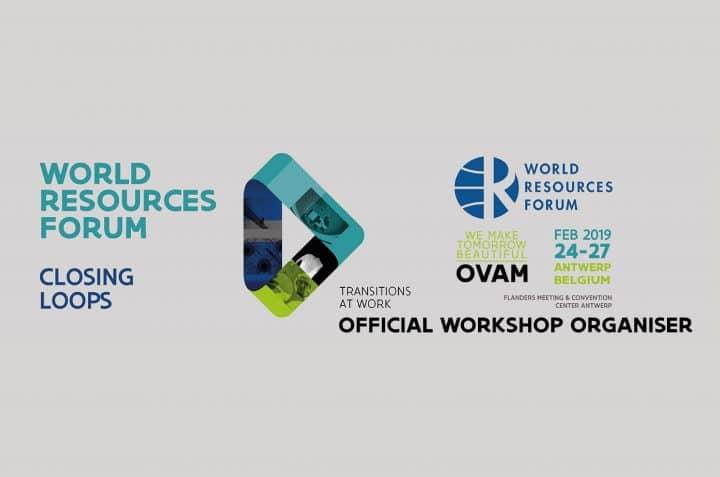 RREUSE workshop at the World Resources Forum 2019